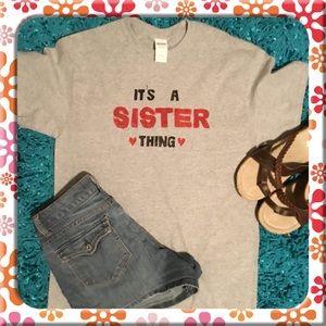 Gray Sister Tshirt